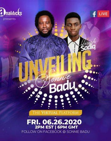 Joseph Sadiq Unveiling with Sonniebaddu | 26th of June 2020